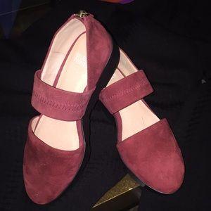 Eileen Fisher Suede Platform Shoe